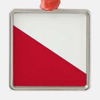 Flag of Utrecht (city) Metal Ornament