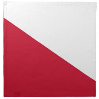 Flag of Utrecht (city) Napkin