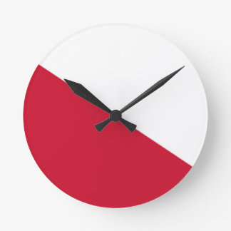 Flag of Utrecht (city) Round Clock