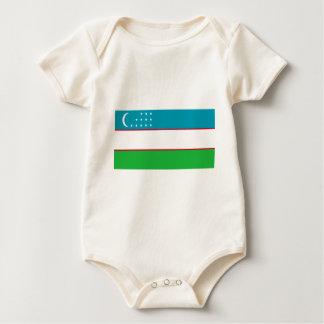 Flag_of_Uzbekistan Baby Bodysuit