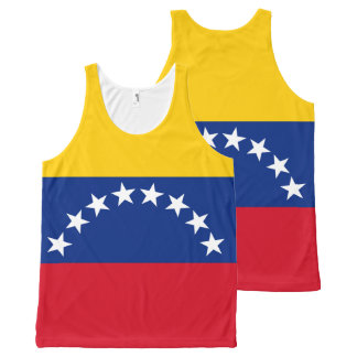 Flag of Venezuela All-Over-Print Tank Top