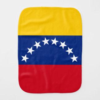 Flag of Venezuela Burp Cloth