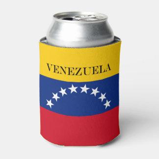 Flag of Venezuela Can Cooler