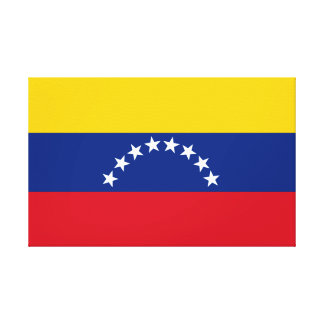 Flag of Venezuela Canvas Print