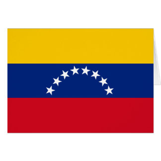Flag of Venezuela Card