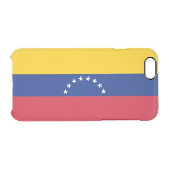 Flag of Venezuela Clear iPhone Case