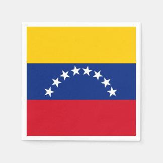 Flag of Venezuela Disposable Napkins