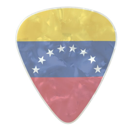 Flag of Venezuela Guitar Picks Pearl Celluloid Guitar Pick