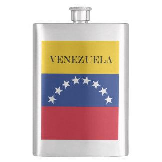 Flag of Venezuela Hip Flask