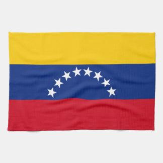 Flag of Venezuela Kitchen Towel