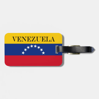 Flag of Venezuela Luggage Tag