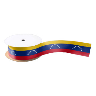Flag of Venezuela Satin Ribbon