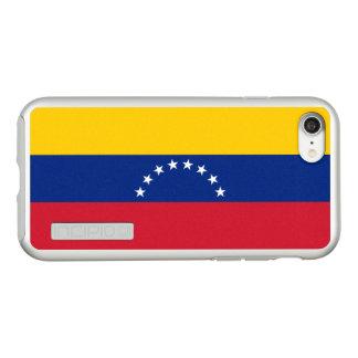 Flag of Venezuela Silver iPhone Case