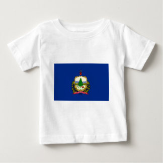 Flag Of Vermont Baby T-Shirt
