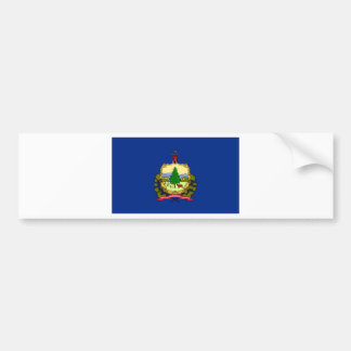 Flag Of Vermont Bumper Sticker