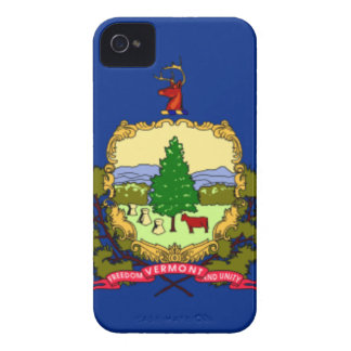 Flag Of Vermont iPhone 4 Case-Mate Cases