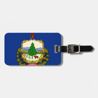 Flag Of Vermont Luggage Tag