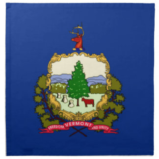 Flag Of Vermont Napkin