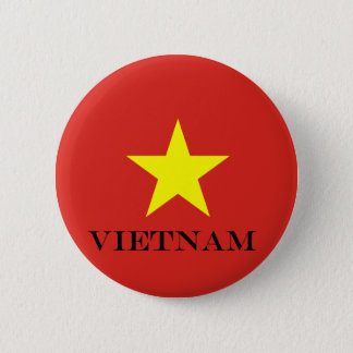 Flag of Vietnam 2 Inch Round Button