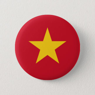 Flag of Vietnam 2 Inch Round Button
