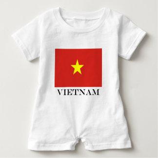 Flag of Vietnam Baby Romper