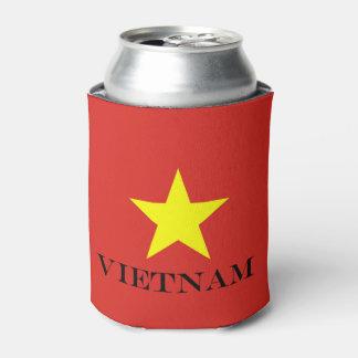 Flag of Vietnam Can Cooler