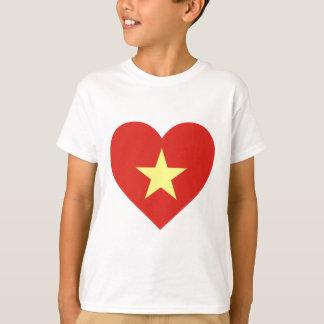 Flag of Vietnam - I Love Viet Nam - Cờ đỏ sao vàng T-Shirt