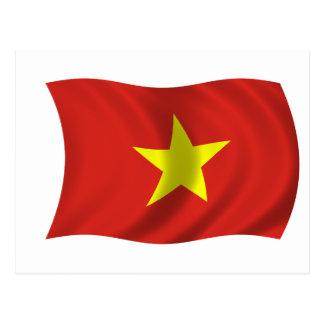 Flag of Vietnam Postcard