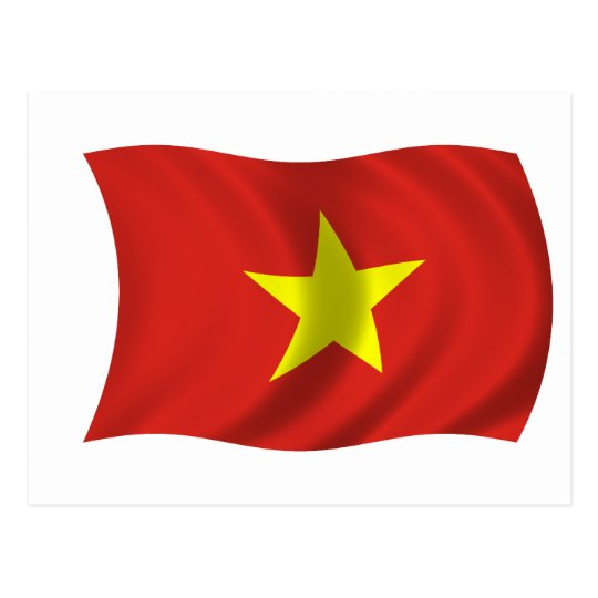 Flag of Vietnam Postcard