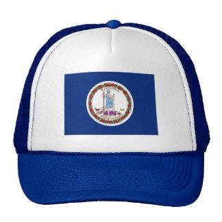 Flag of Virginia Mesh Hats