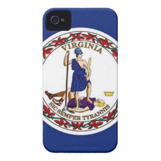 Flag Of Virginia iPhone 4 Case-Mate Cases