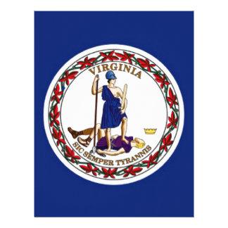 Flag Of Virginia Letterhead