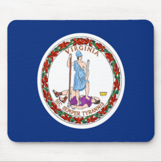 Flag of Virginia Mouse Pad
