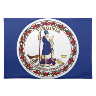 Flag Of Virginia Placemat