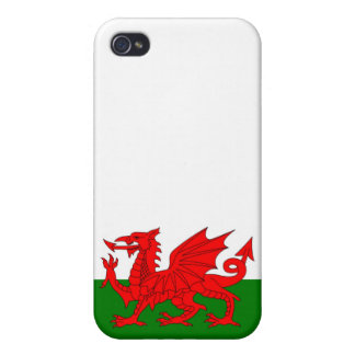 Flag of Wales iPhone 4 Cover