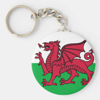 Flag of Wales Keychain