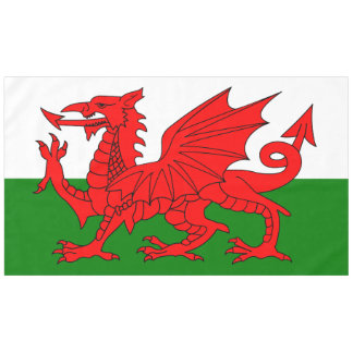 Flag of Wales Tablecloth