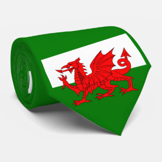 Flag of Wales Tie