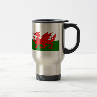 Flag of Wales Travel Mug