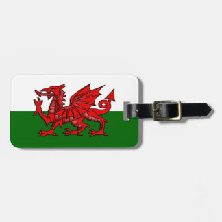 Flag of Wales - Welsh Red Dragon Luggage ID Tag
