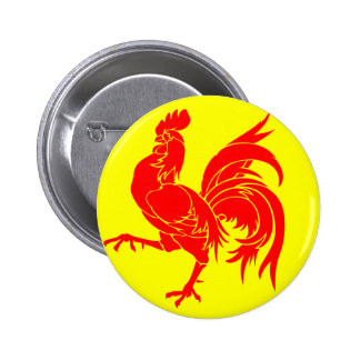 Flag_of_Wallonia.svg (1) 2 Inch Round Button