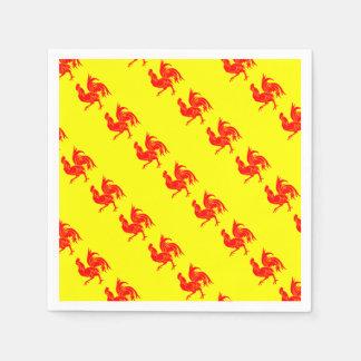 Flag_of_Wallonia.svg (1) Paper Napkin