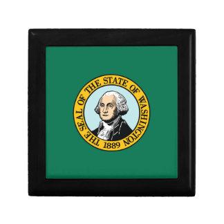 Flag Of Washington Gift Box