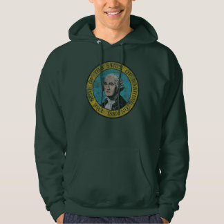 Flag of Washington Hoodie