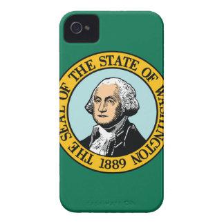 Flag Of Washington iPhone 4 Cases