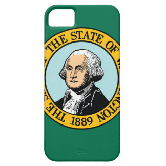 Flag Of Washington iPhone 5 Covers