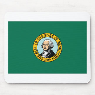 Flag Of Washington Mouse Pad