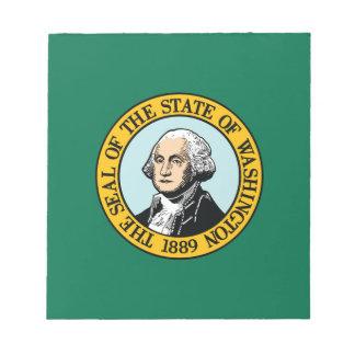 Flag Of Washington Notepad