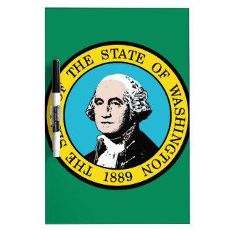 Flag of Washington State Dry Erase Board