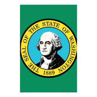 Flag of Washington State Stationery